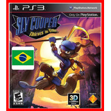 Sly Cooper Viajantes Do Tempo   Portugues Br Ps3 Psn Dublado