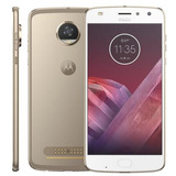 Smartphone Motorola Moto Z2 Play Ouro 5 5  Android 7 1 1