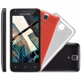 Smartphone Multilaser Ms45s Preto Dual 8gb 4 5   Android 5 1