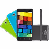 Smartphone Multilaser Ms50 Colors 8gb Tela Ips 5 Dual Chip