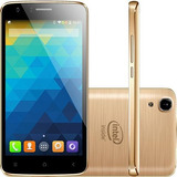 Smartphone Qbex X gold Android 4 4 Tela 5   16gb Nota Fiscal