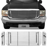 Sobre Grade F250 F350 F4000 99 � 06 Horizontal Filetada