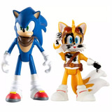 Sonic Boom   Sonic & Tails   Articulado   Tomy