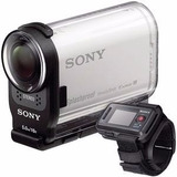 Sony Action cam Full Hd Hdr as200vr As200v 32gb C 10 nfe