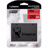 Ssd Kingston 120 Gb Sata 6gb s 2 5 Pol  Lacrado A400 500mb s