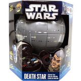 Star Wars Mighty Beanz Estrela Da Morte Caso De Coletor W  2