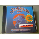 Steve Miller Band Greatest  74 78  cd Lacrado   Made In Usa