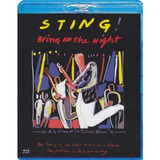 Sting Bring On The Night Bluray Lacrado Original