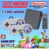 Super Game Box   Emulador Super Nintendo Snes   7 000 Jogos
