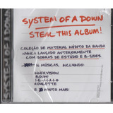 System Of A Down   Cd Steal This Album    Lacrado