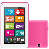 Tablet M7 s  Rosa Tela 7 Wifi Android 4 4 2mp 8g Multilaser