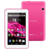 Tablet Multilaser M7s Quad Core Wi fi  7 Rosa   Nb186