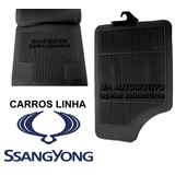 Tapete Borracha Ssangyong action  Action Sports  Kyron 4p�s