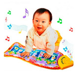 Tapete Musical Teclado Piano Infantil 0 A 24 Meses