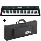 Teclado Workstation Korg Kross 61   Bag Original