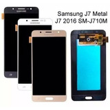 Tela Touch Display Lcd Frontal Samsung J7 J710 Metal 2016
