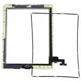 Tela Vidro Touch Screen Ipad 2   Frame Aro Apple Original