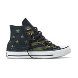 T�nis Converse All Star Hi   American Flag   Verde Ex�rcito