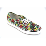 Tênis Vans Authentic Black Rasta Original Na Caixa 39869a59026