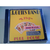 The J  Geils Band Live Full H  cd Lacrado&selado usa  Remast