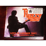 Thin Lizzy Cd Duplo Live In London 2011 Novo Lacrado