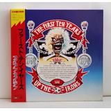 Tk0m Cd Iron Maiden First 10 Years Up The Irons 10cds bookle