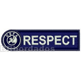 Tpc089 Respect Uefa Champions Leagu Patch Bordado 10 3x2 8cm