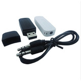 Transmissor Bluetooth Usb Adaptador Musica P2 Cd Som E Carro
