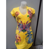 Vestido Ed Hardy By Christian Audigier   Novo   Original