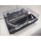 Vitrola Toca Discos Audio Technica At lp120 Usb Dj Black