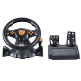 Volante Se Fio Ps2   Ps3   Pc Multilaser Racer Gamer Js074
