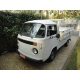 Volkswagen Kombi Pick up 1995 Carroceria De Madeira Kit Gas