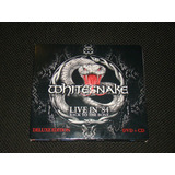 Whitesnake live In 84 back To The Bone cd dvd de Luxe leia