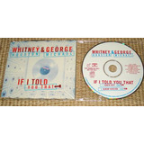 Whitney Houston & George Michael Cd Single Promo Importado