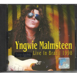 Yngwie Malmsteen Live In Brazil 1998 Cd ex    malaysia impor