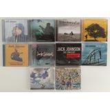 10 Cds Coleção Jack Johnson On And On En Concert To The Sea