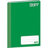 10 X Cadernos Brochura Verde Pequeno Cd 48 Folhas Top