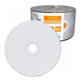100 Cd r Multilaser Printable Branco Imprimível Midia Virgem