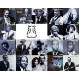 18 Cds Coleção Mestres Do Blues Bb King Hendrix Eric Clapton