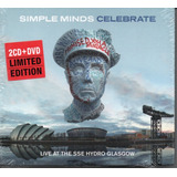 2 Cd   Dvd Simple Minds   Celebrate Live At The Sse Hydro