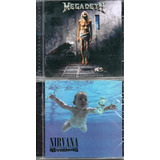 2 Cd S Nirvana Nevermind   Megadeth Countdown To Extinction