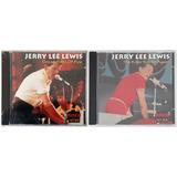 2 Cds Jerry Lee Lewis Coleção Rock N° 10 E Rock N° 33