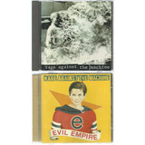 2 Cds Rage Against The Machine   1992   Evil Empire