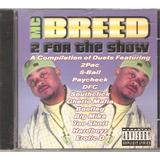 2 Pac Too Short Erotic D Bootleg Big Mike Cd Mc Breed  novo