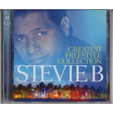 2cd Stevie B  Greatest Fresstyle Collection Cd Duplo Lacrado