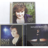 3 Cd s Susan Boyle   The Gift   Standing Ovation   Someone