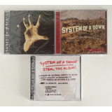 3 Cds System Of A Down   Toxicity   Steal This Album Lacrado