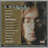 345 Mcd  Cd  A Música Do Século  Capa John Lennon  Vol 1