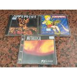 3cds Metallica Reload Ofspring Smash E Americana