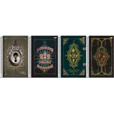 4 Caderno Universitário Cd 1x1 96f Animais Fantásticos 18